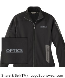OPTICS Womens Jacket Soft Shell Technical Ladies Design Zoom
